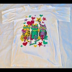 Other - Cool Cat Vintage Single Stitch Shirt